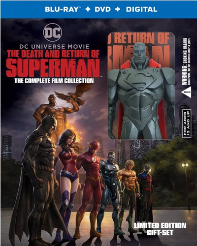 Image result for the death and return of superman dvd