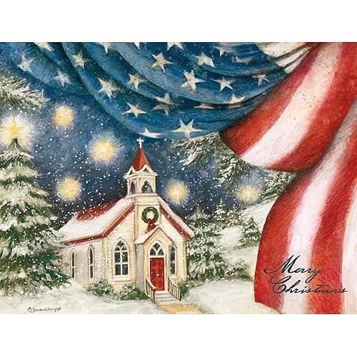 Lang An American Christmas Boxed Christmas Cards