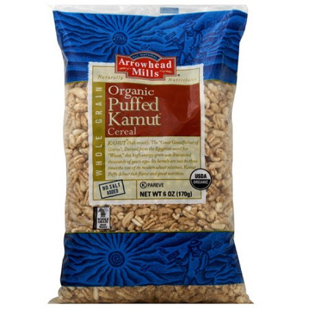 Image result for arrowhead mills puffed kamut cereal