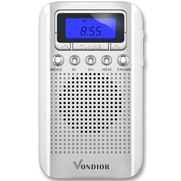 Digital Amfm Portable Pocket Radio With