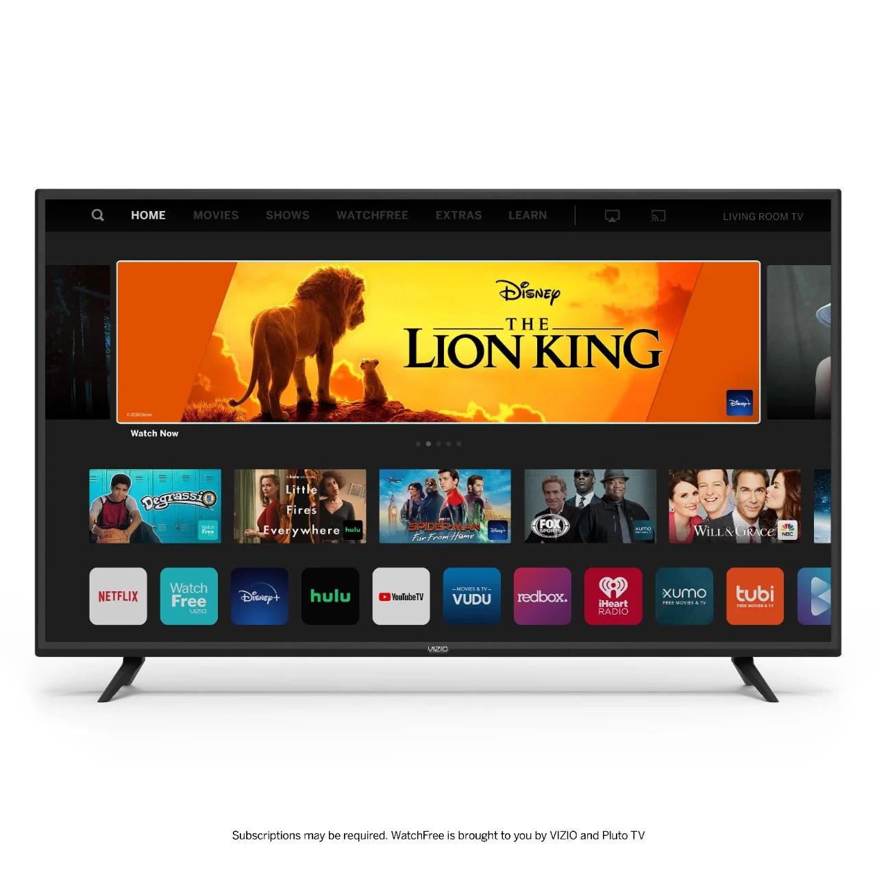 VIZIO 32″ Class HD Smart TV D-Series D32h-G9