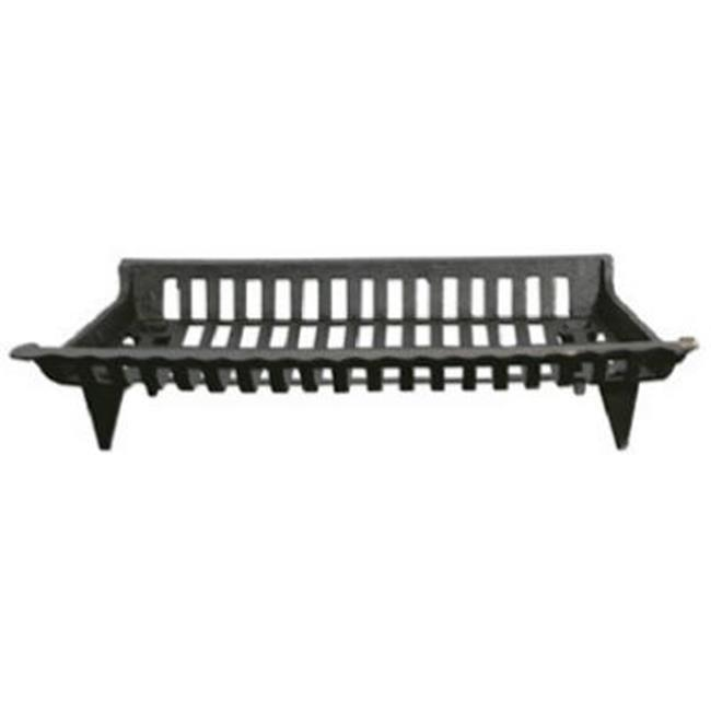 GHP CG27 27 In Cast Iron Fireplace Grate Black