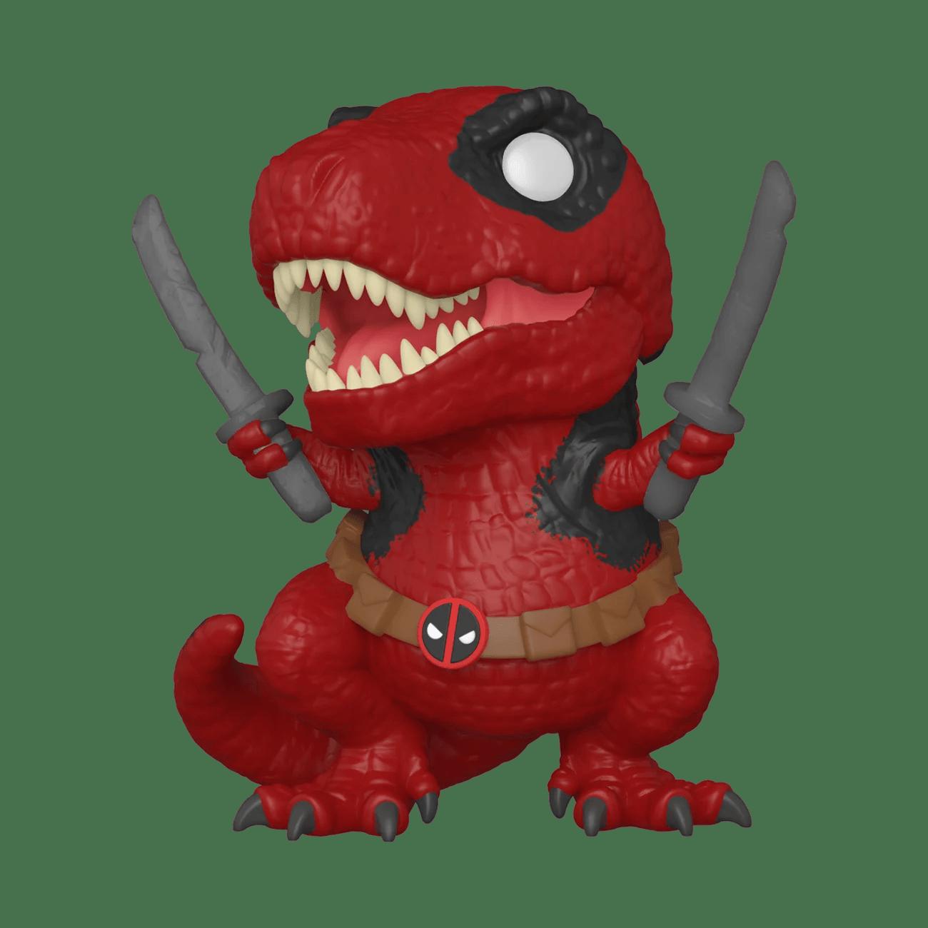 Funko Pop Marvel Deadpool 30th Dinopool Walmart Com Walmart Com