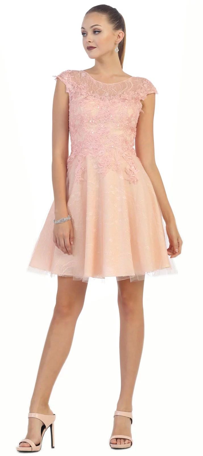 semi formal short homecoming dress