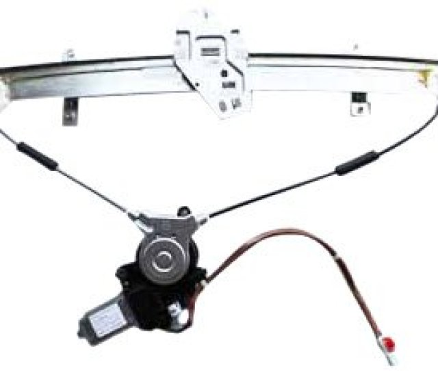 Tyc 660062 Honda Accord Front Driver Side Replacement Power Window Regulator Assembly With Motor Walmart Com