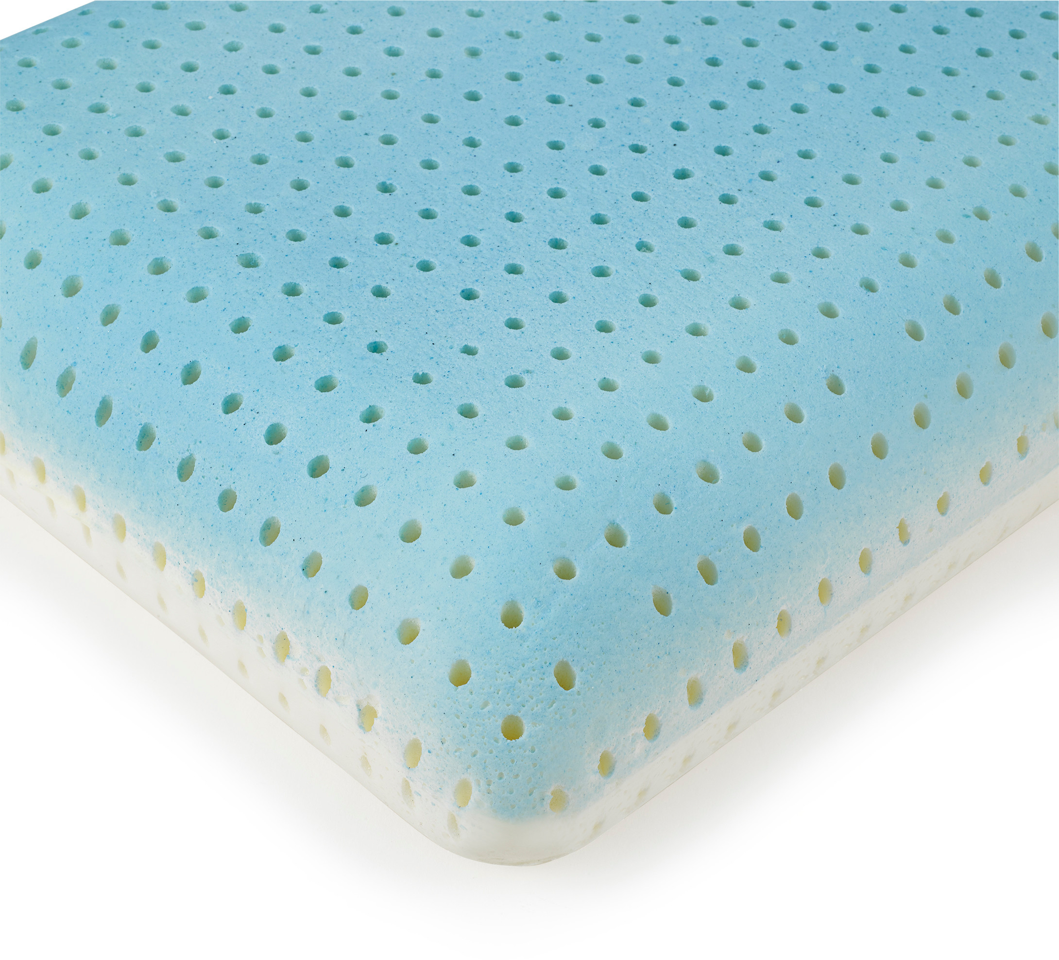 beautyrest silver aquacool memory foam pillow with removable cover