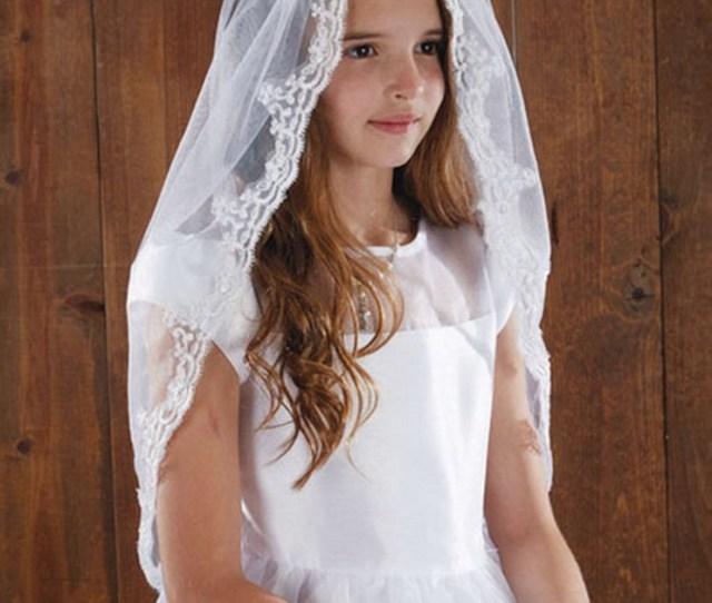 Christian Brands Wc  Lace Mantilla Veil