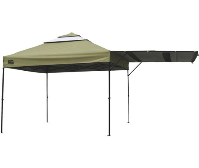Quikshade Summit X Straight Leg Canopy With Awningkhaki Top Walmart Com
