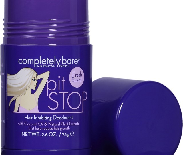 Pack Completely Bare Pit Stop Hair Inhibiting Deodorant   Oz
