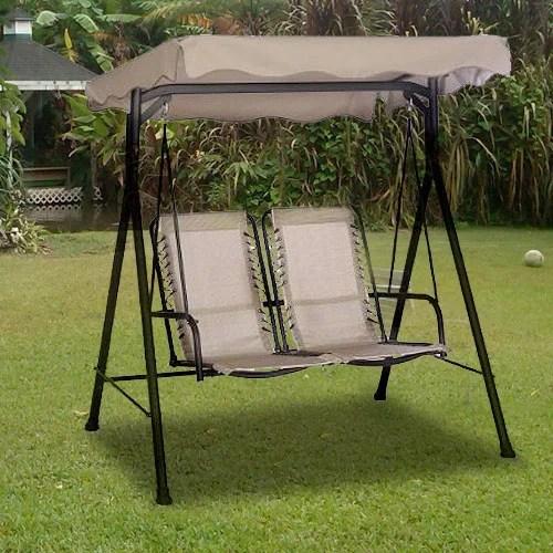 garden winds replacement canopy top for alexander 2 seater swing walmart com