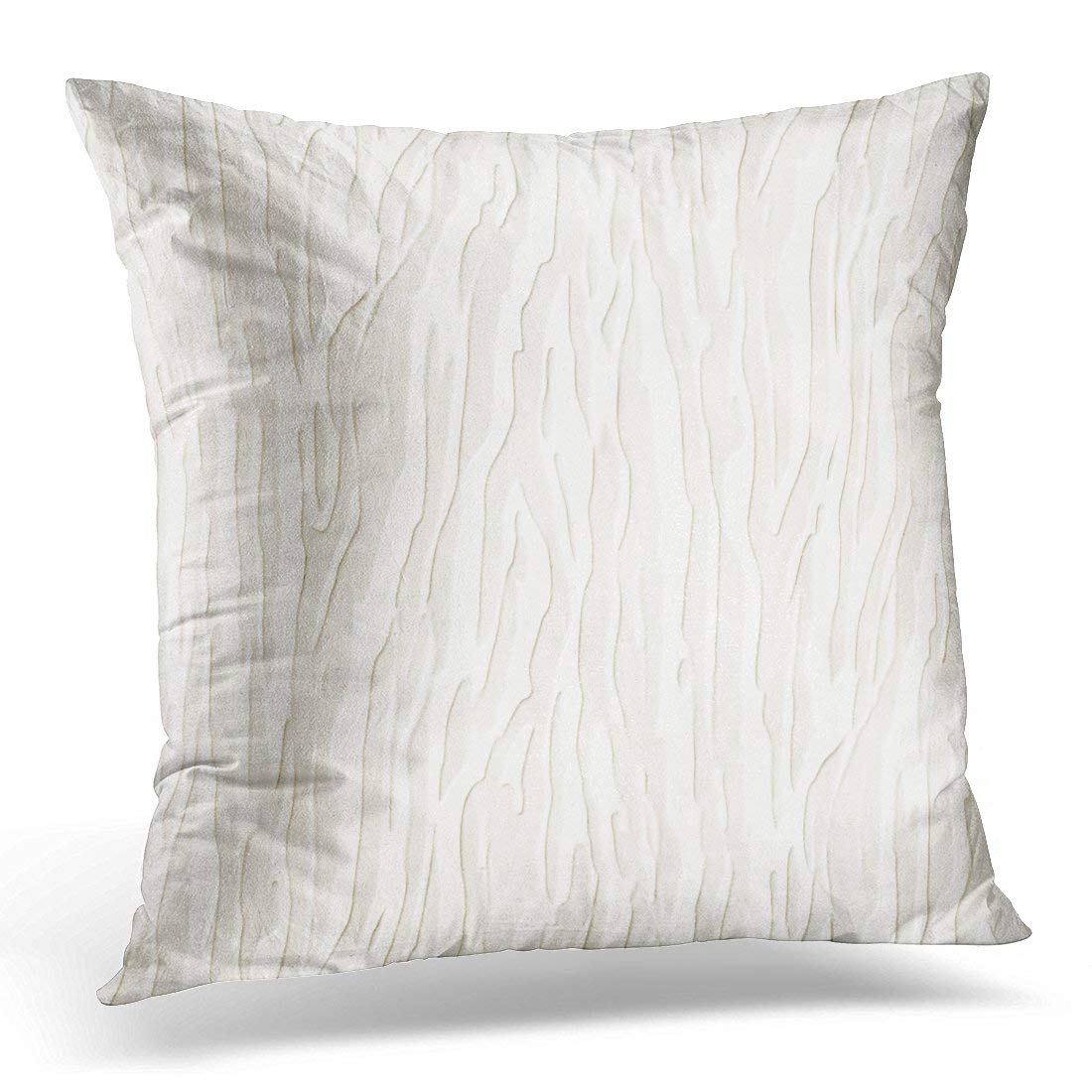 arhome concrete gray wall white 3d stone abstract pillow case cushion cover 16x16 inches