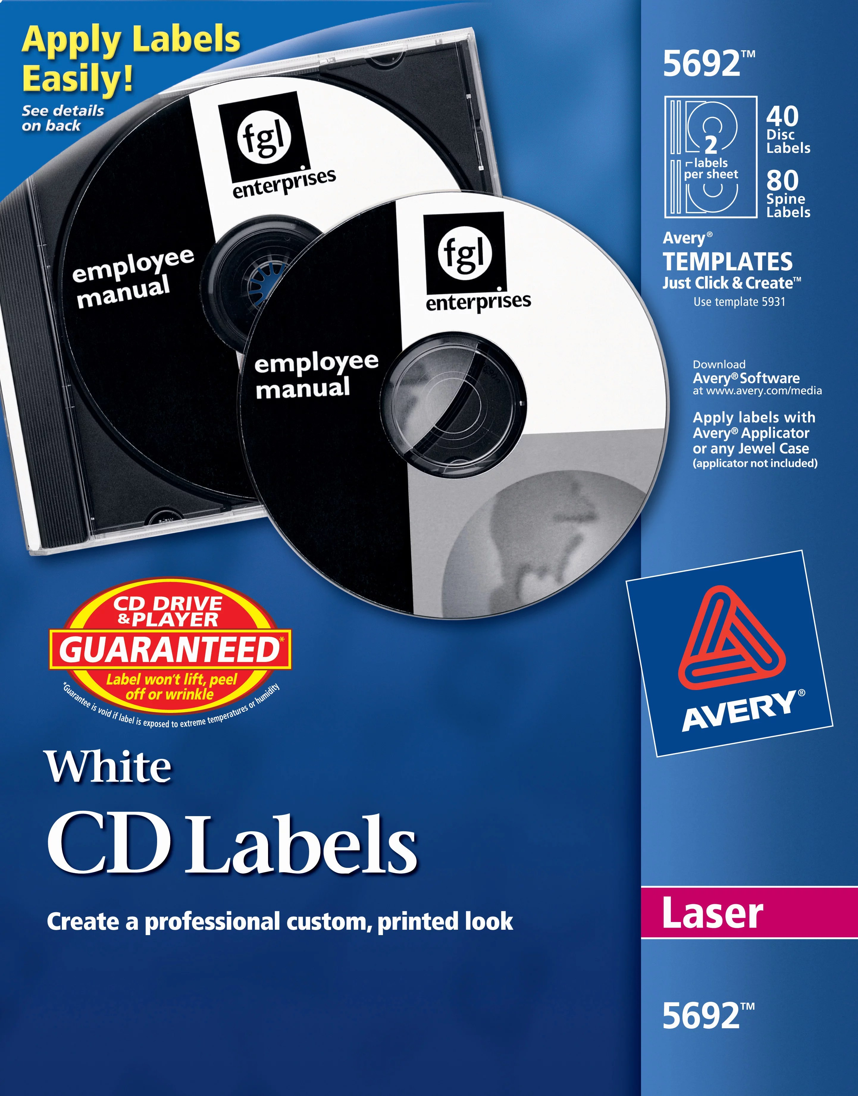 Labels Information Ideas 31 Avery Spine Label Template