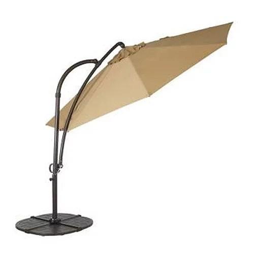 garden winds replacement canopy top for hampton bay solar umbrella walmart com