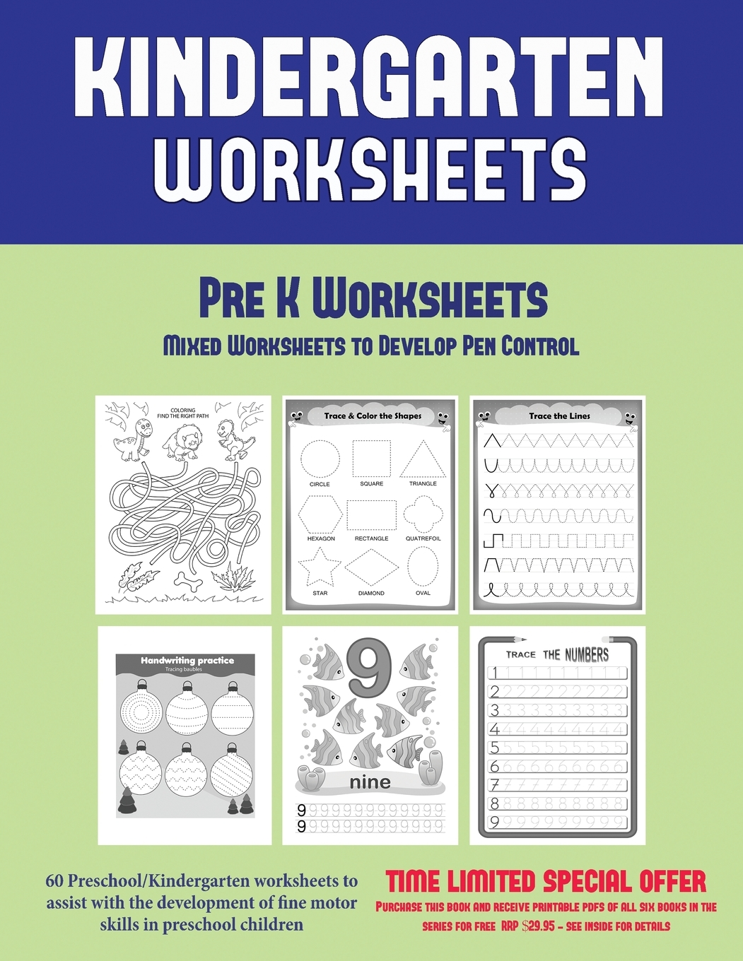 Pre K Worksheets Pre K Worksheets Mixed Worksheets To