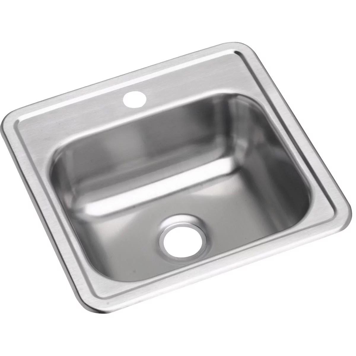 stainless steel bar sinks walmart com