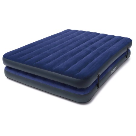 Intex Queen 2 In 1 Guest Airbed Mattress With Hand Pump