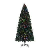 Product Image Holiday Time Pre Lit Fiber Optic Artificial Christmas Tree Multicolor 4 Ft
