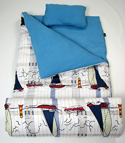 soho slumber bag for kids sailor s boat with pillow and sleeping bag cover 50 degrees