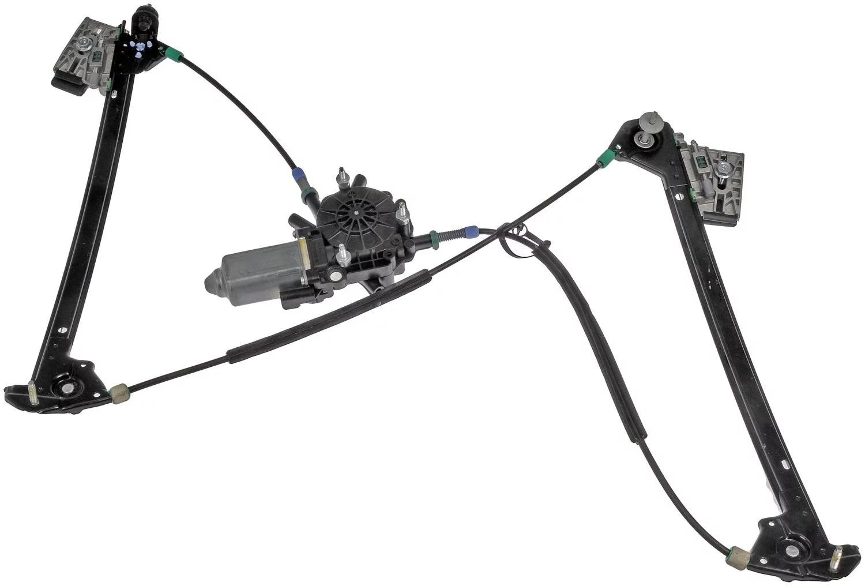 Power Window Regulator And Motor Assembly 748 472 Fits Chevrolet Corvette 97