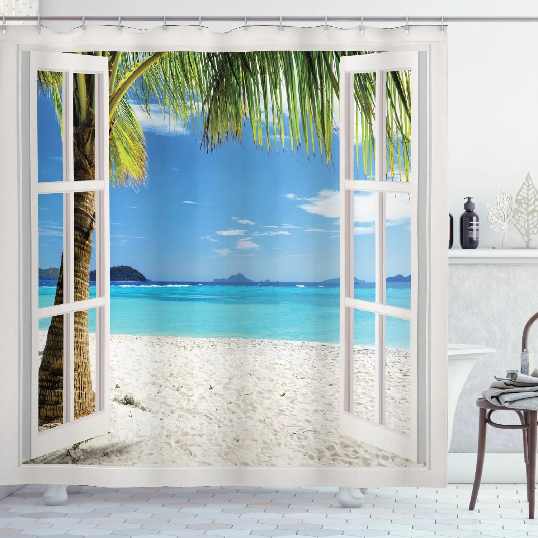 wood shower curtains walmart com