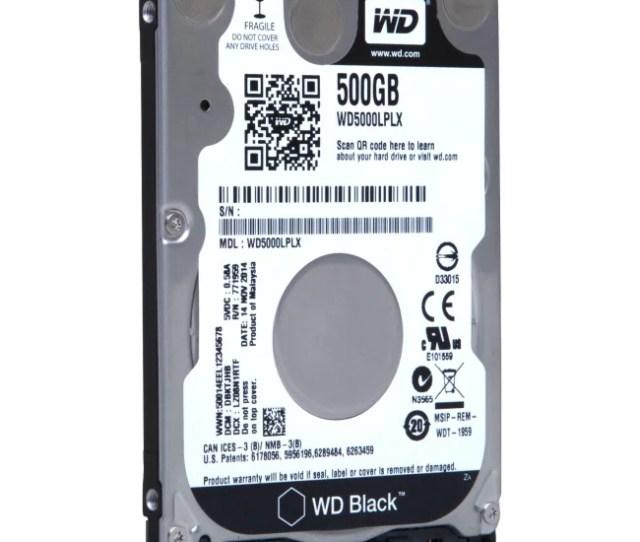 Wd Black Wd5000lplx  5 Internal Hard Drive Sata 7200 Rpm