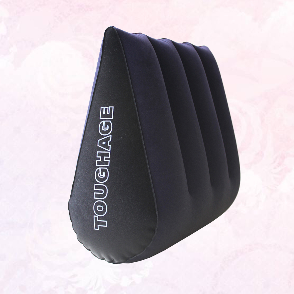 1pc inflatable sexy aid wedge pillow triangle love position cushion couple toy