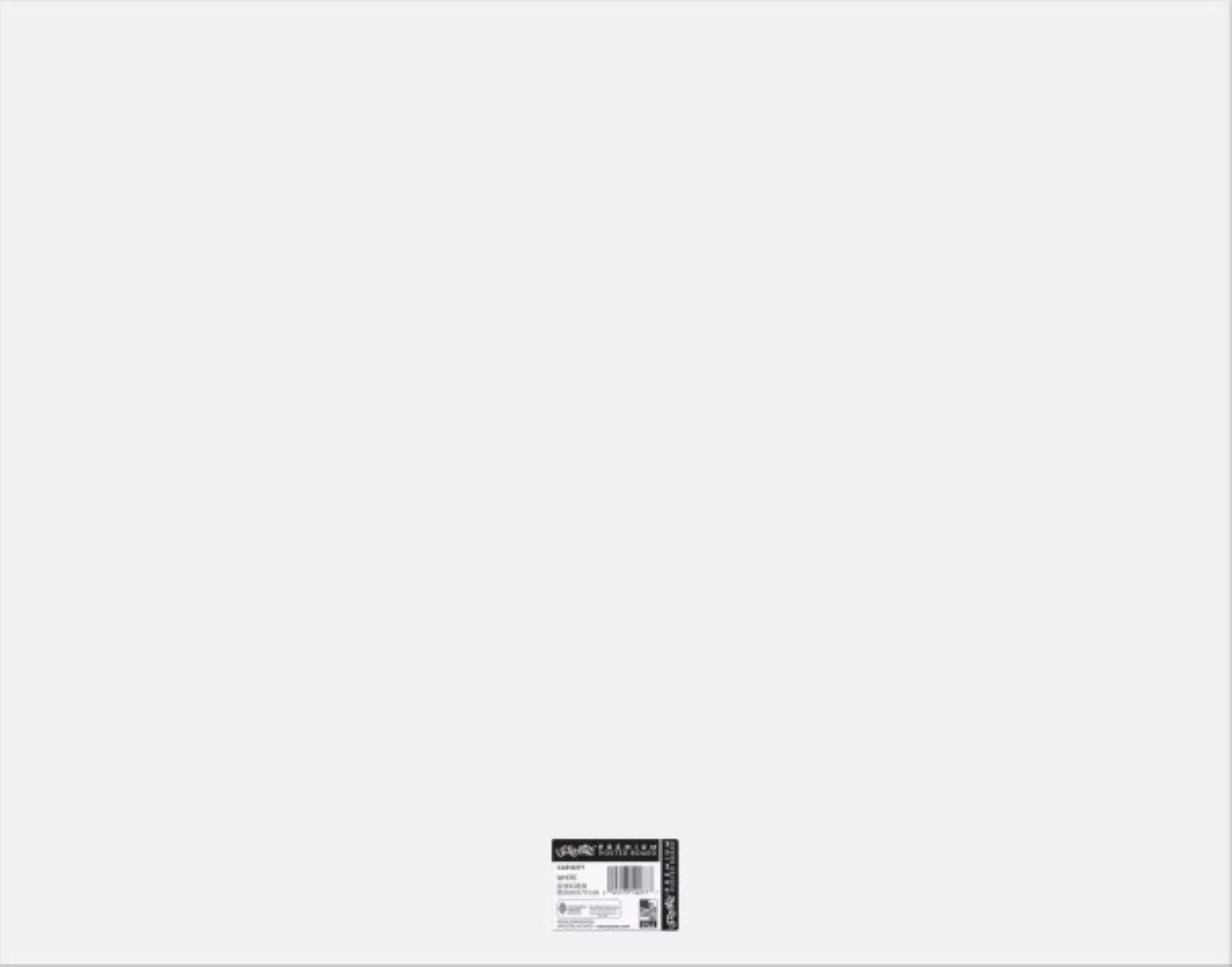 ucreate foam poster board white 22 x 28 25 sheets
