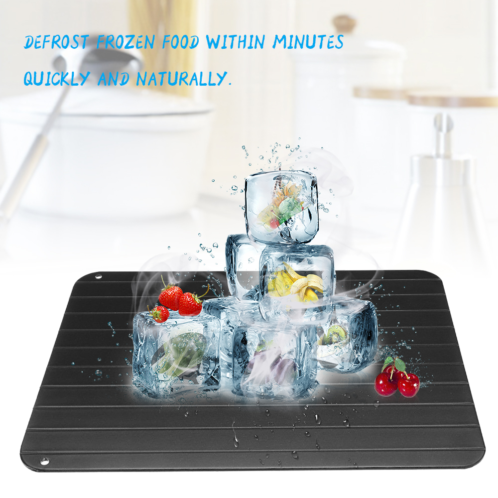 fast defrosting tray defrost beef meat frozen food quickly without electricity microwave thaw board thawing plate unfreeze boards l