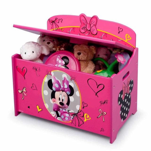 Disney Minnie Mouse Deluxe Toy Box Walmart