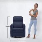 Delta Children Clair Slim Nursery Glider Swivel Rocker Chair Walmart Com Walmart Com