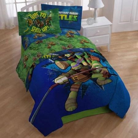teenage mutant ninja turtles sheet set - walmart