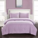 American Kids Tufted Stripe Comforter Set Purple Idea Nouva Bk686000 Full Kids Furniture Decor Storage Bedding Sets Collections