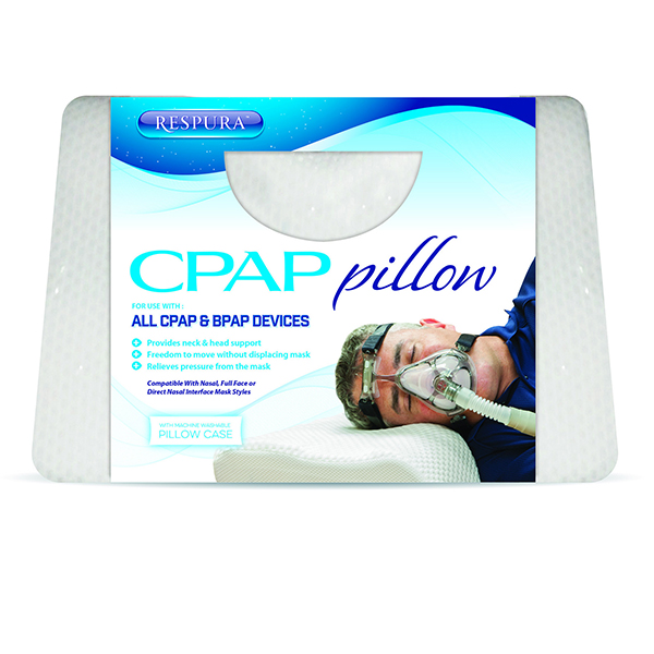deluxe comfort cpap specialty medical sleep pillow standard compatible with cpap medical device hypoallergenic allergen free stomach and side