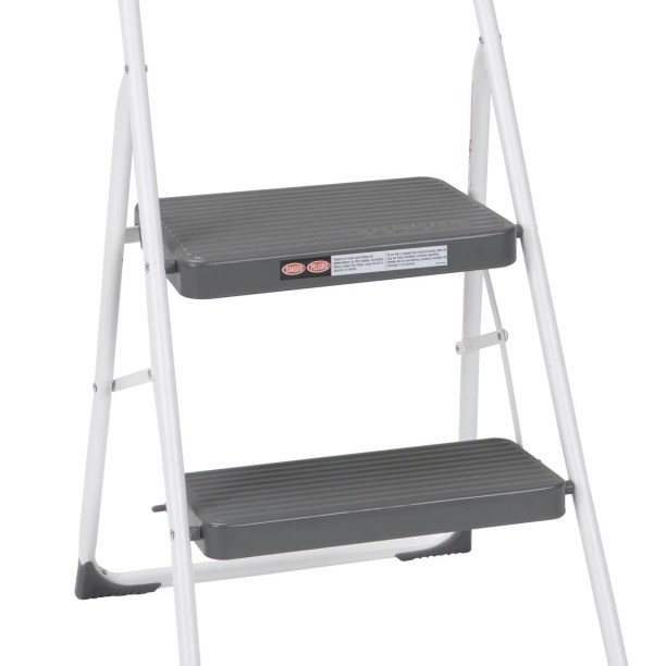 Cosco All Steel Folding Step Stool With