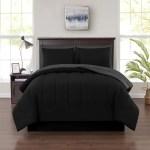 Mainstays 8 Piece Solid Bed In A Bag Bedding Comforter Set Full Red Walmart Com Walmart Com