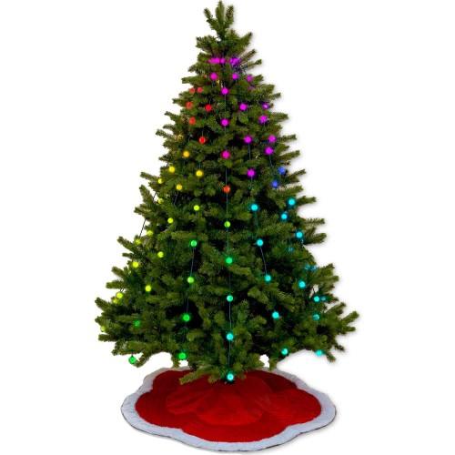 Geek My Tree Glowballs Light Show Starter 80 Animated Walmart Com Walmart Com