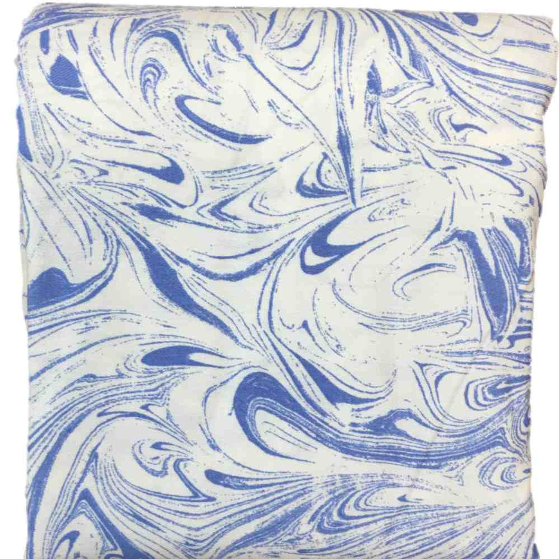 room essentials blue marble swirl fabric shower curtain bath decor walmart com