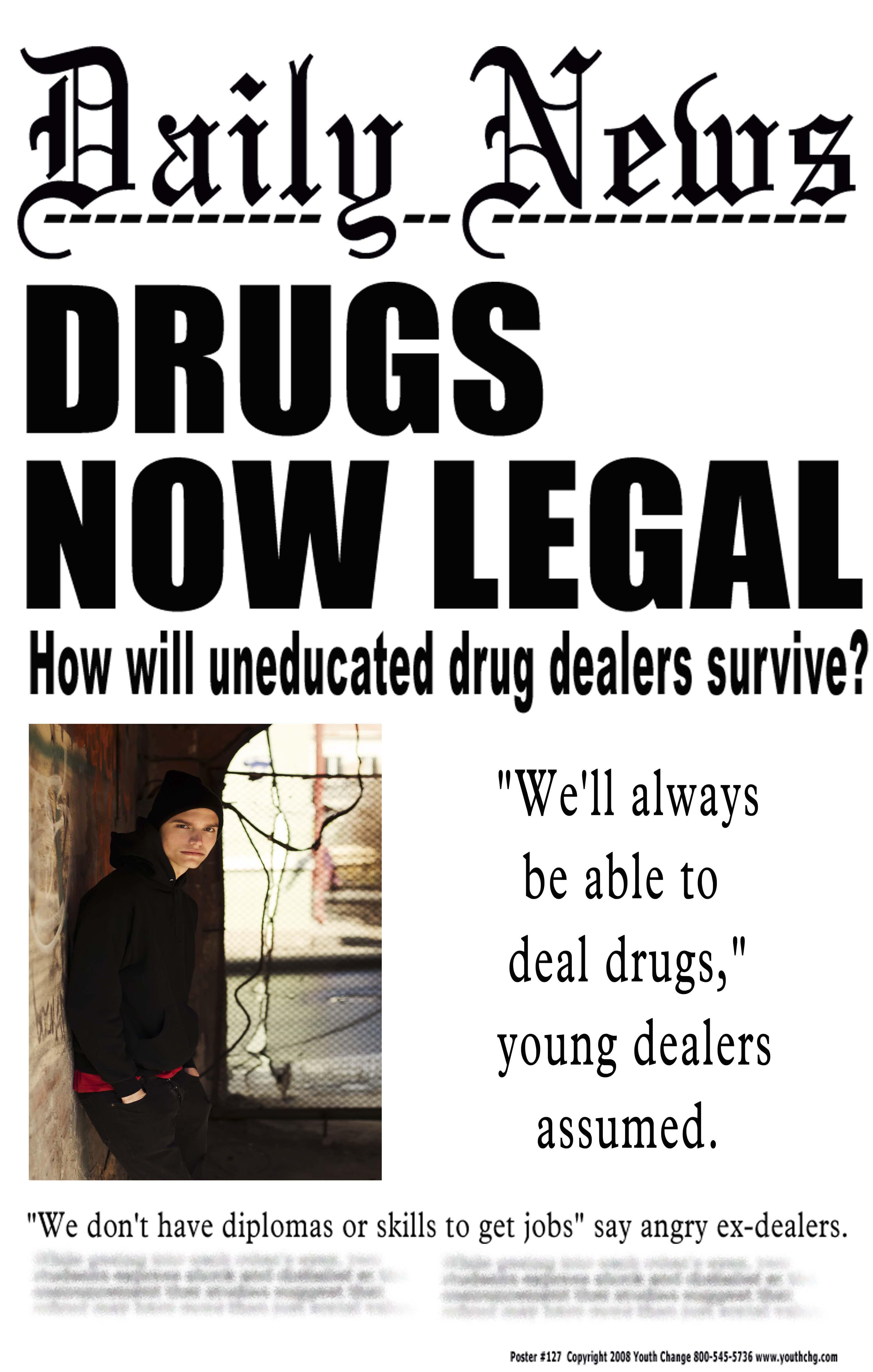 Youth Change Poster 127 Young Offender Drug Dealer Poster
