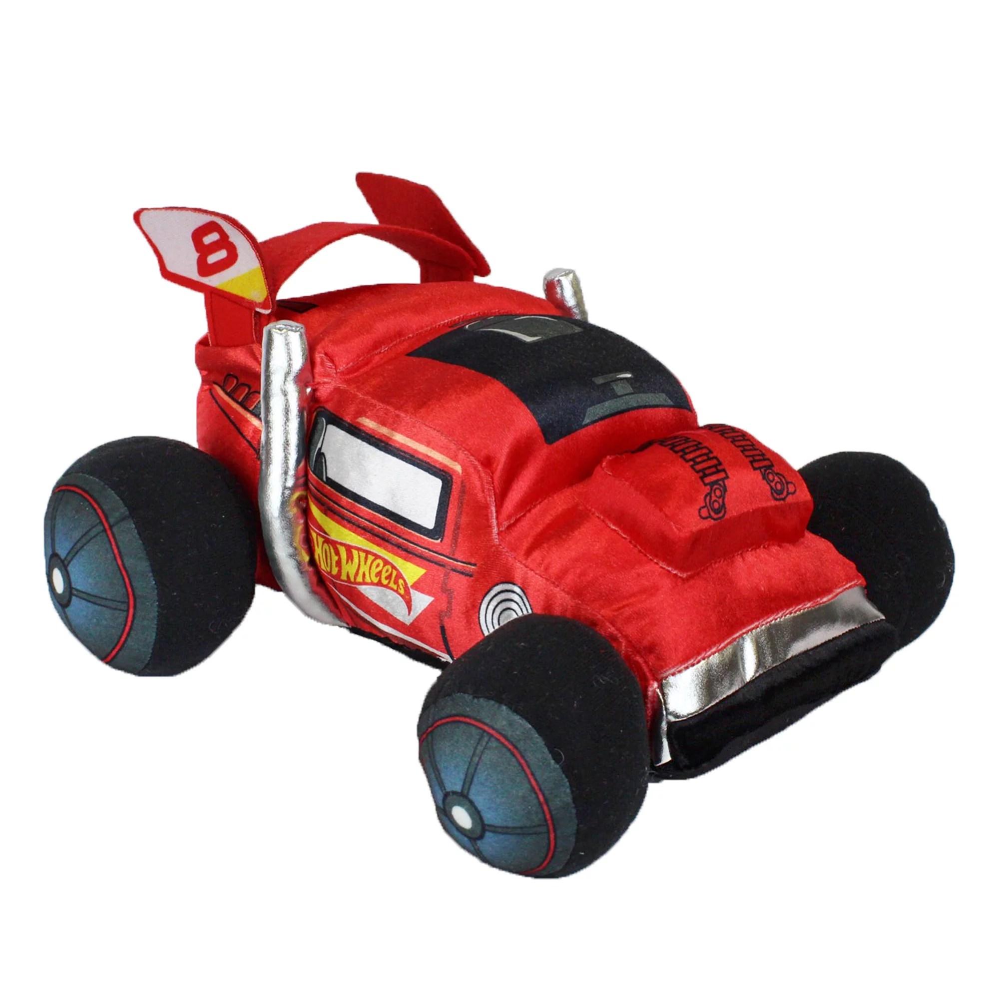 hot wheels plush pillow 18 x 10 kids pillow buddy race car