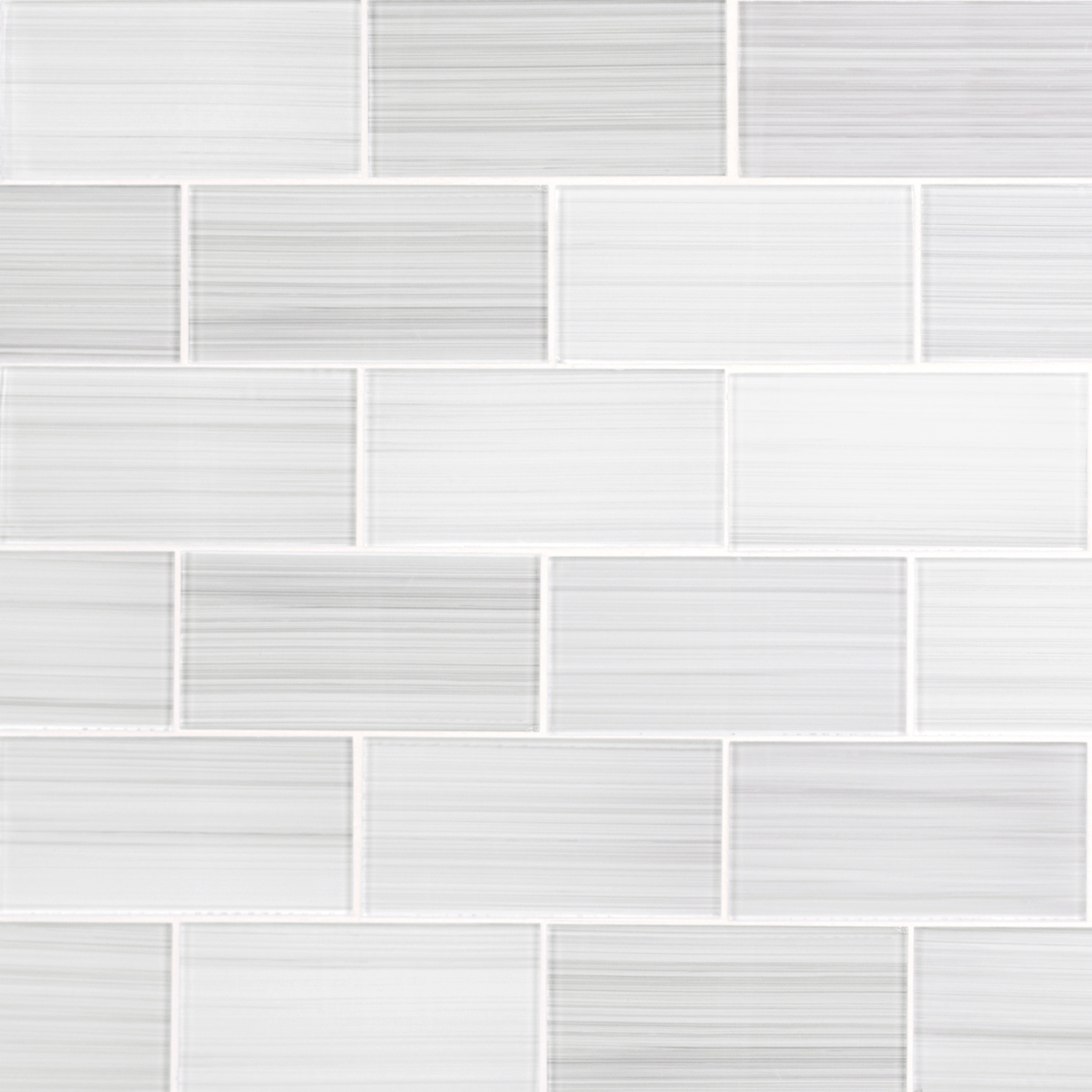 ws tiles hand painted white 3 in x 6 in glass subway 12 in x 12 in mesh backed wall tile 5 sq ft case