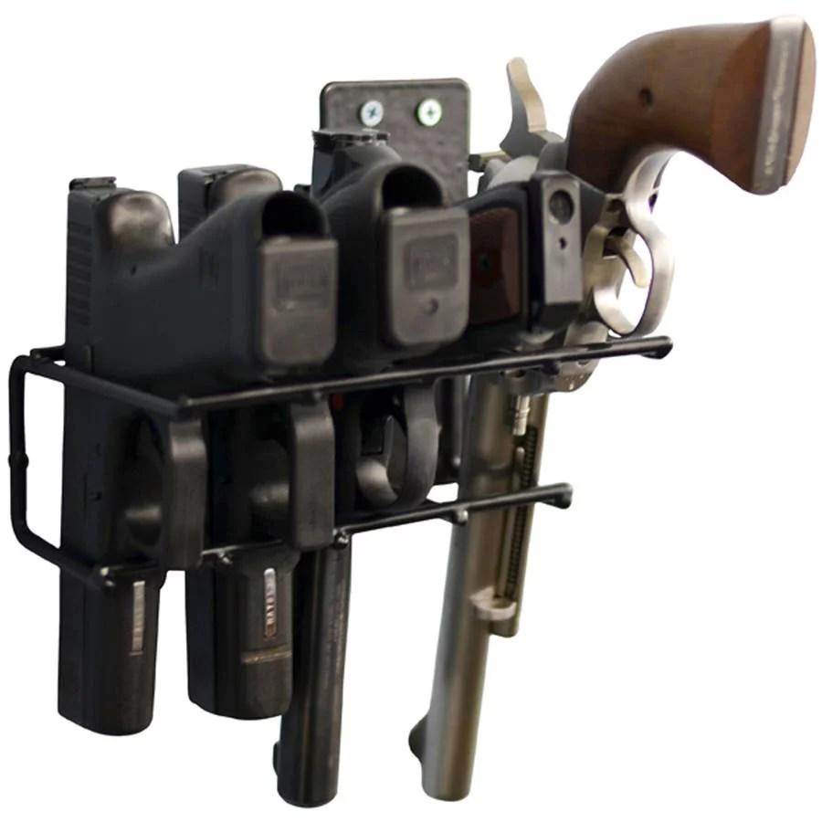 40 out of 5 stars. Allen Company Steel 3 Firearm Locking Truck Window Rack Black Walmart Com