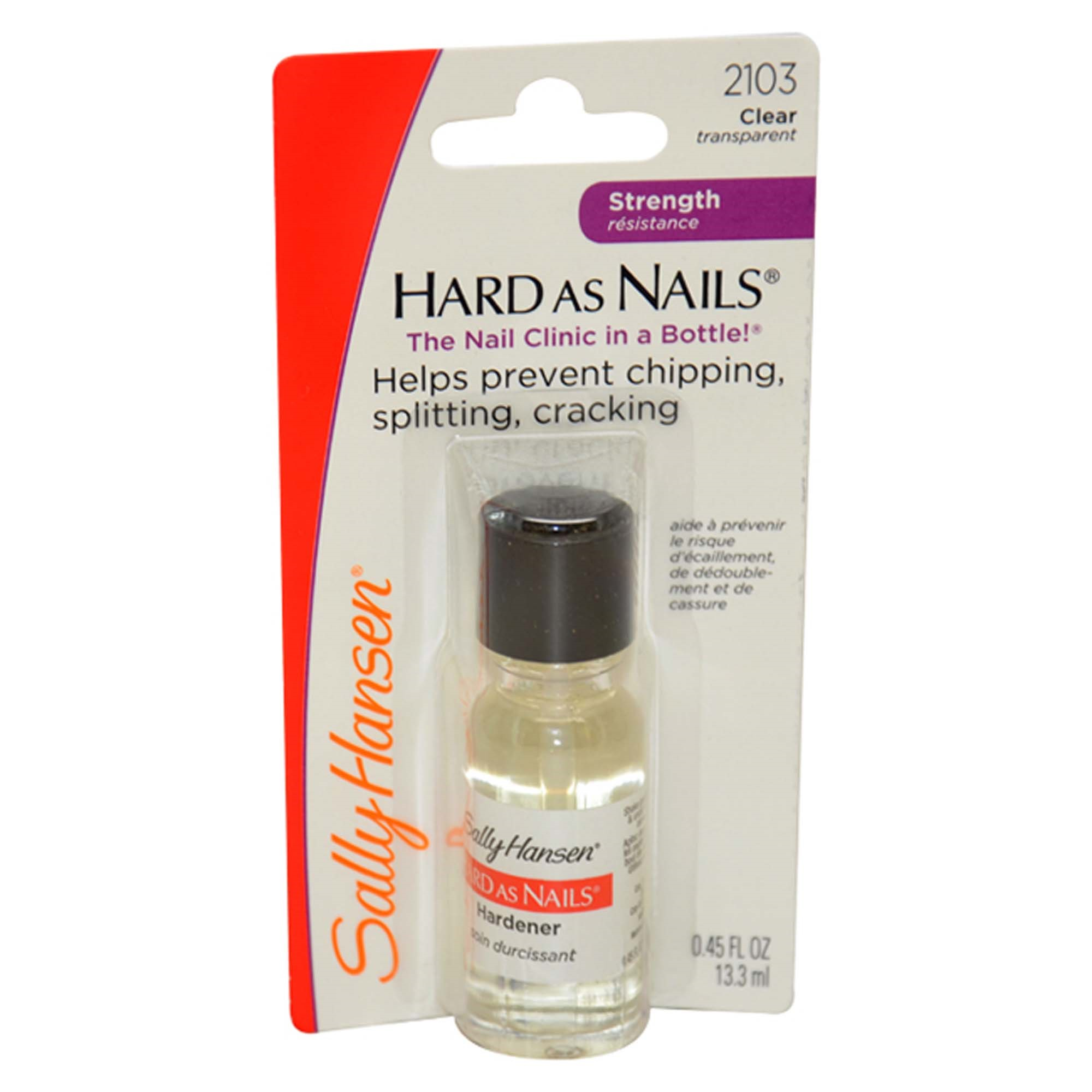 Sally Hansen Hard As Nails Regular 2103 Clear Transpa 0 45 Oz