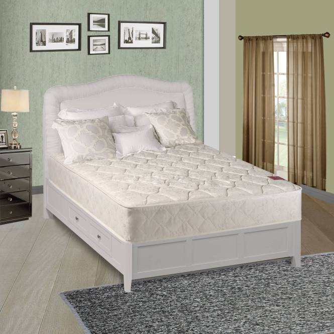 Continental Sleep Elegant Collection Firm Orthopedic Twin Mattress