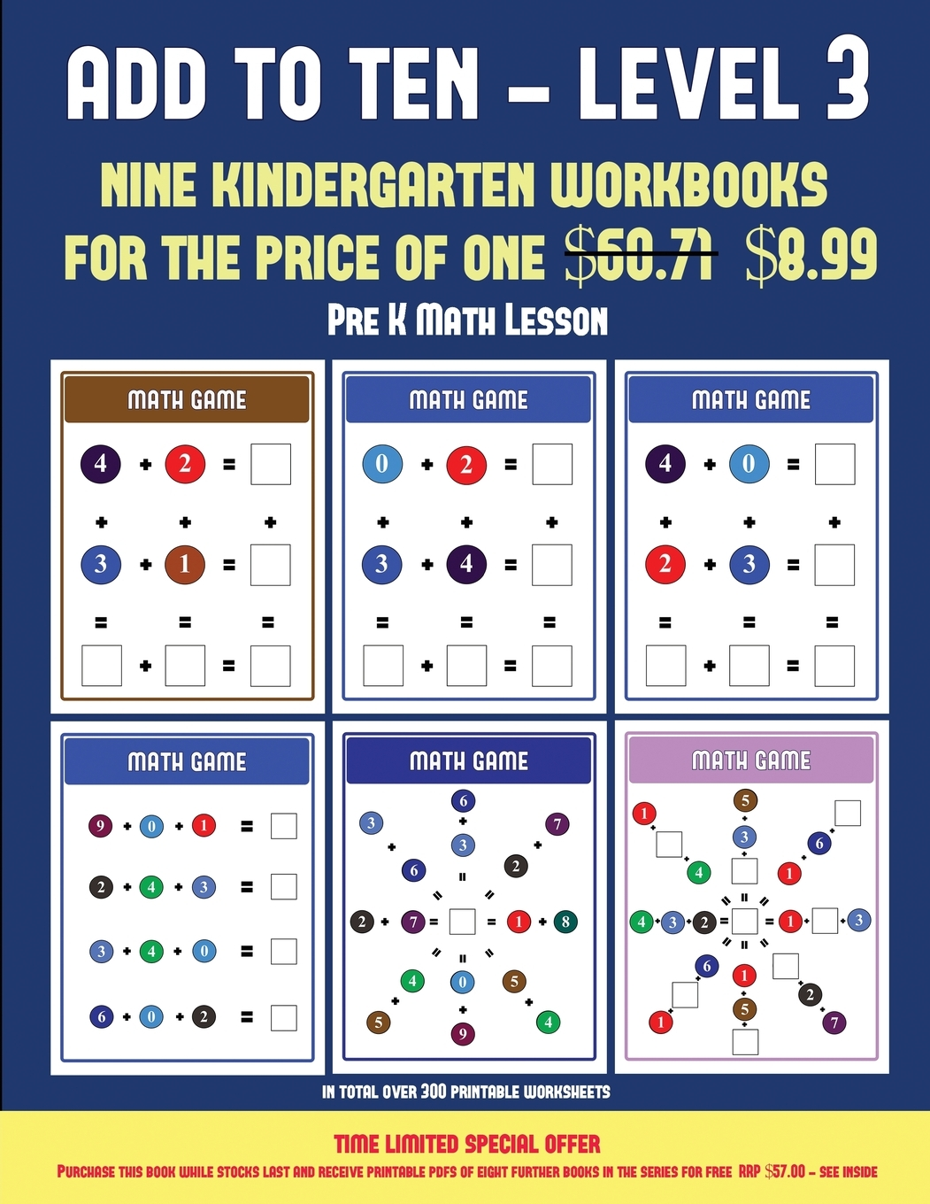 Pre K Math Lesson Pre K Math Lesson Add To Ten