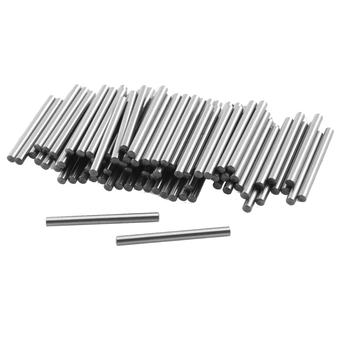 Unique Bargains 100 Pcs 1 35mm Diameter 15 8mm Length Cylinder Parallel Dowel Pins