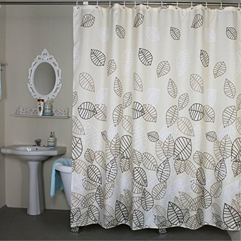 shower curtain extra wide 96 x 78 inches set with rings welwo mildew resistant shower curtain liner x wide fabric for bathroom