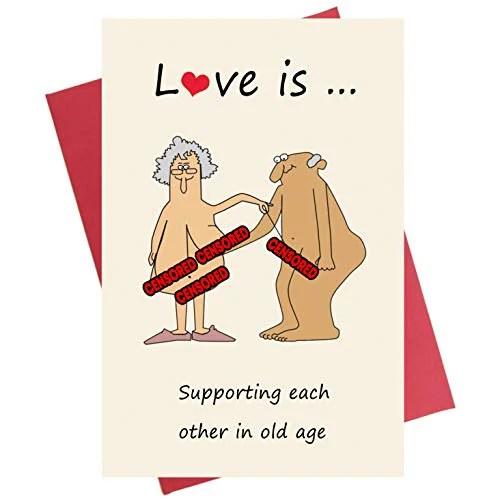 Funny Anniversary Card Birthday Card Valentine S Day Card For Boyfriend Girlfriend Wife Husband Walmart Canada