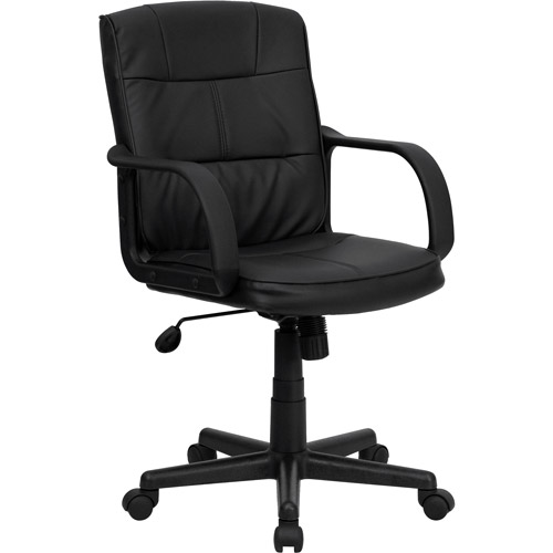 Flash Furniture Mid-Back Office Chair, Black