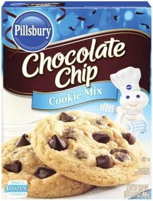 Pillsbury Chocolate Chip Cookie Mix 175 Oz