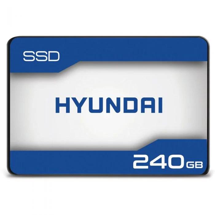 Hyundai 240GB Internal Solid State Drive 2.5″- SATA(SATA/600) – 500 MB/s